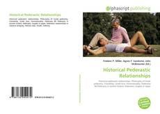 Bookcover of Historical Pederastic Relationships