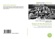 Bookcover of Origin of the Romanians