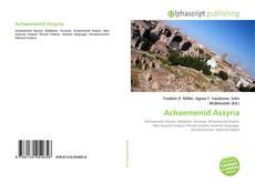 Capa do livro de Achaemenid Assyria