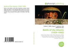 Capa do livro de Battle of the Atlantic (1939–1945)