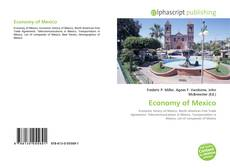 Bookcover of Economy of Mexico