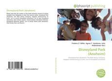 Portada del libro de Disneyland Park (Anaheim)
