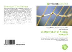 Bookcover of Confederation of African Football