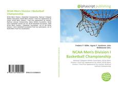 Обложка NCAA Men's Division I Basketball Championship