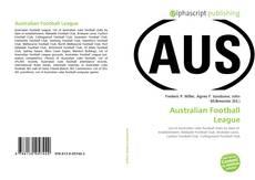 Bookcover of Australian Football League