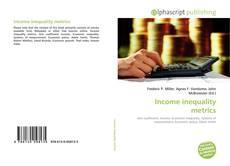 Buchcover von Income inequality metrics