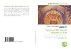 Copertina di History of the Islamic Republic of Iran