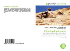 Climbing Equipment kitap kapağı
