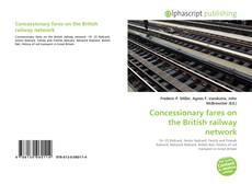 Capa do livro de Concessionary fares on the British railway network