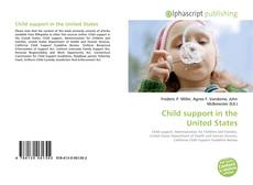 Bookcover of Child support in the United States