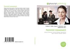 Capa do livro de Feminist movement