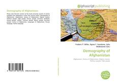 Bookcover of Demography of Afghanistan