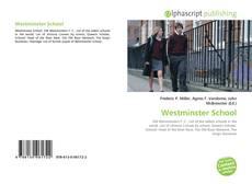 Bookcover of Westminster School