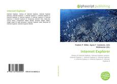 Portada del libro de Internet Explorer