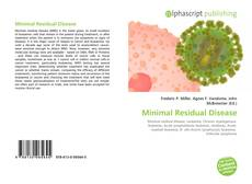 Bookcover of Minimal Residual Disease