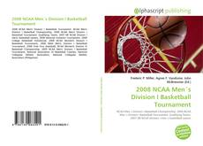 Bookcover of 2008 NCAA Men´s Division I Basketball Tournament