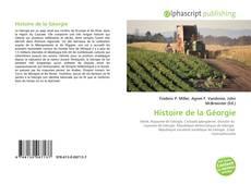 Обложка Histoire de la Géorgie