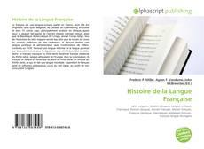 Bookcover of Histoire de la Langue Française