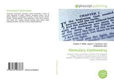 Buchcover von Formulary Controversy