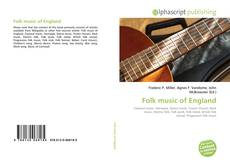 Bookcover of Folk music of England