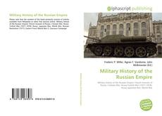 Bookcover of Military History of the Russian Empire