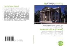 Обложка Parti Socialiste (France)