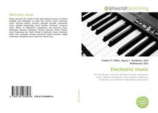 Portada del libro de Electronic music