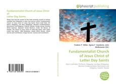Bookcover of Fundamentalist Church of Jesus Christ of Latter Day Saints