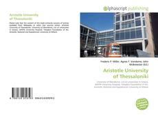 Bookcover of Aristotle University of Thessaloniki