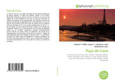 Buchcover von Pays de Caux