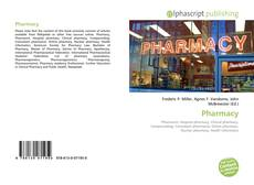 Bookcover of Pharmacy