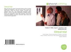 Bookcover of Clinical trial
