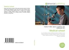 Bookcover of Medical school