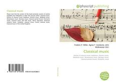 Bookcover of Classical music