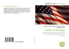 Couverture de Battles of Saratoga