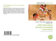 Bookcover of 2007 NCAA Men's Division I Basketball Tournament
