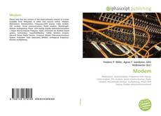 Bookcover of Modem