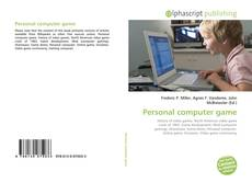Bookcover of Personal computer game