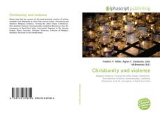 Bookcover of Christianity and violence
