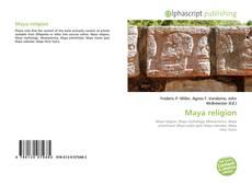 Maya religion kitap kapağı