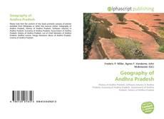 Capa do livro de Geography of Andhra Pradesh