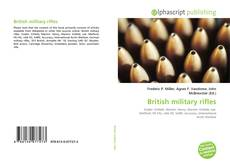 Capa do livro de British military rifles