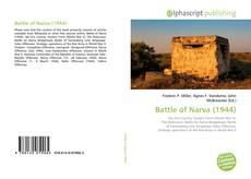 Bookcover of Battle of Narva (1944)