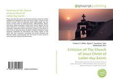 Criticism of The Church of Jesus Christ of Latter-day Saints kitap kapağı