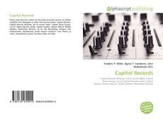 Bookcover of Capitol Records