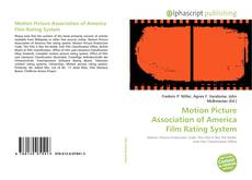 Обложка Motion Picture Association of America Film Rating System