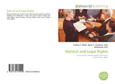 Couverture de Natural and Legal Rights