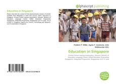 Bookcover of Education in Singapore