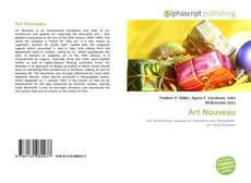 Portada del libro de Art Nouveau