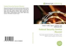Capa do livro de Federal Security Service (Russia)